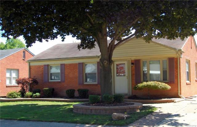 2055 Byrd Street, Dearborn, MI 48124 (MLS #218087032) :: The Toth Team