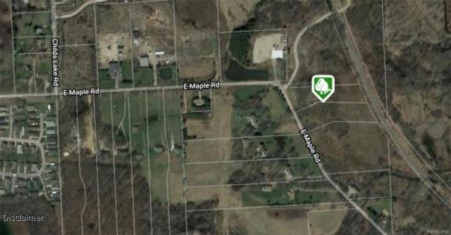 Vacant Maple Road, Milford Twp, MI 48381 (#218087576) :: RE/MAX Classic