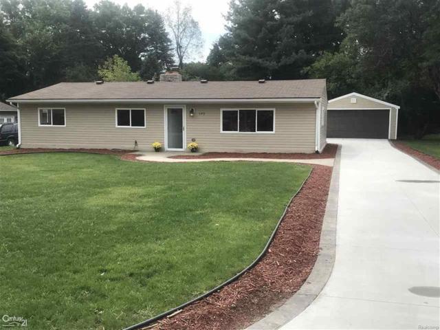 145 Highland, Bloomfield Twp, MI 48302 (#58031359285) :: Duneske Real Estate Advisors