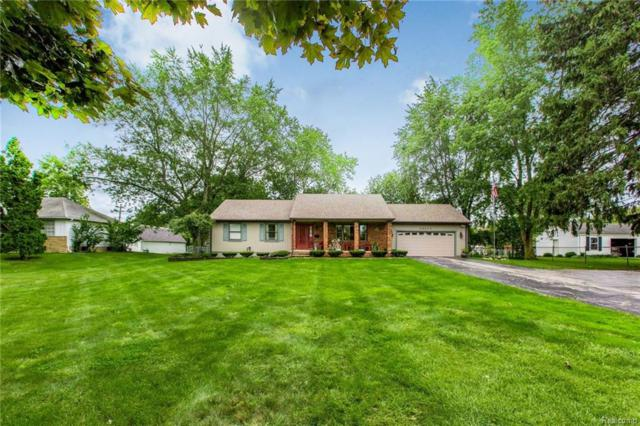 40673 Five Mile Road, Plymouth Twp, MI 48170 (MLS #218087665) :: The Toth Team