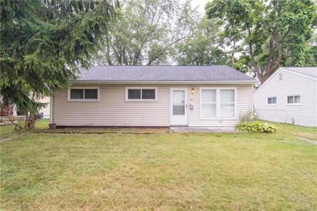 375 3RD Avenue, Pontiac, MI 48340 (#218088363) :: The Buckley Jolley Real Estate Team