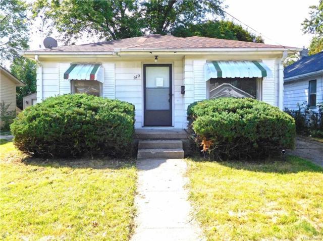 972 Barney Avenue, Flint, MI 48503 (#218088374) :: RE/MAX Classic
