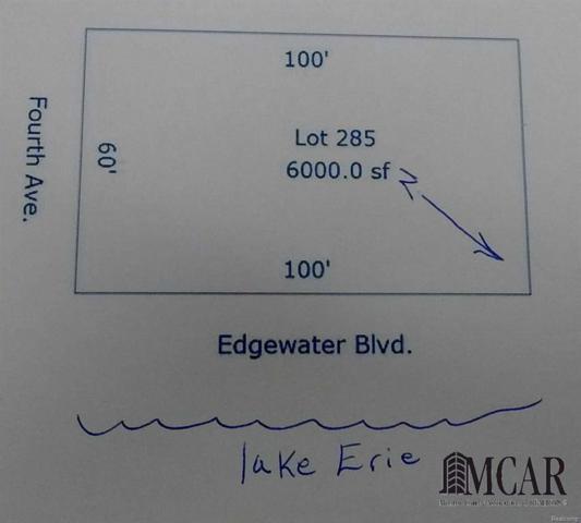 0 Edgewater, Frenchtown Twp, MI 48162 (#57021491531) :: Duneske Real Estate Advisors