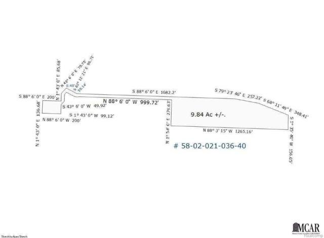 0 Douglas Rd, Temperance, MI 48182 (#57021497615) :: Duneske Real Estate Advisors