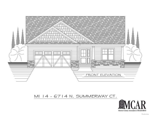 6714 N Summerway Ct, Lambertville, MI 48144 (#57021427698) :: Duneske Real Estate Advisors