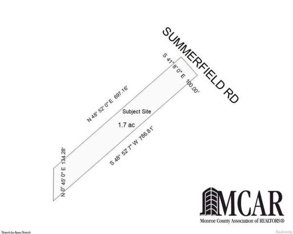 7905 Summerfield, Bedford Twp, MI 48144 (#57021496487) :: Duneske Real Estate Advisors