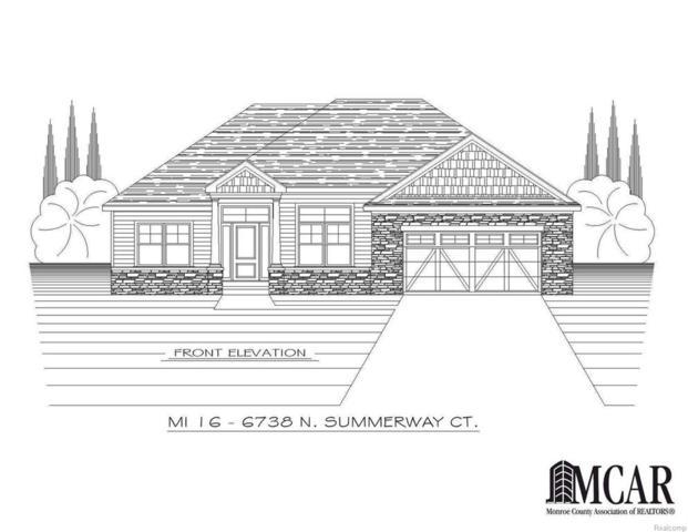 6738 N Summerway Ct, Lambertville, MI 48144 (#57021427882) :: Duneske Real Estate Advisors