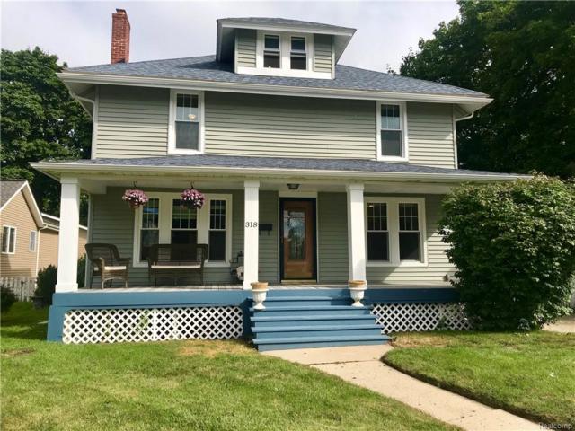 318 W Flint Street, Lake Orion Vlg, MI 48362 (#218088980) :: RE/MAX Classic