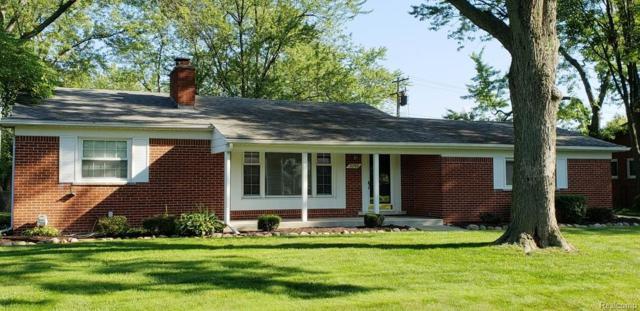 31766 Wayburn Street, Farmington Hills, MI 48334 (#218089080) :: RE/MAX Classic