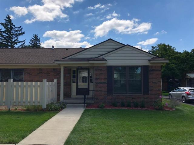 40366 Newport Drive #54, Plymouth Twp, MI 48170 (MLS #543260030) :: The Toth Team