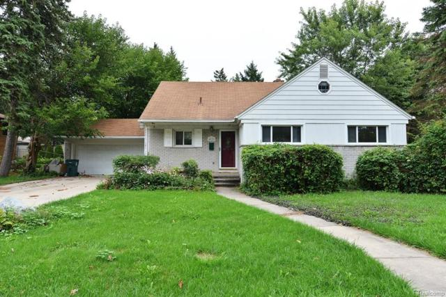 4028 Hillside Drive, Royal Oak, MI 48073 (#218089645) :: RE/MAX Classic