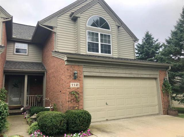 112 Village Place Drive #12, Chelsea, MI 48118 (#543260267) :: RE/MAX Vision