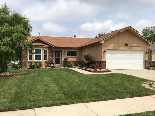42582 Woodbridge Drive, Canton Twp, MI 48188 (MLS #218089780) :: The Toth Team