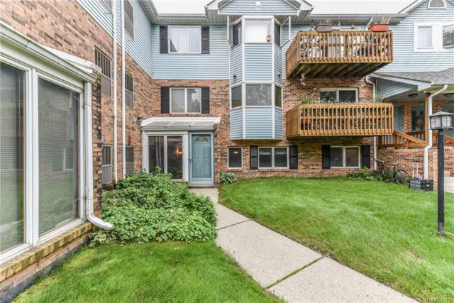 191 Pinewood #101, Plymouth, MI 48170 (MLS #218089951) :: The Toth Team