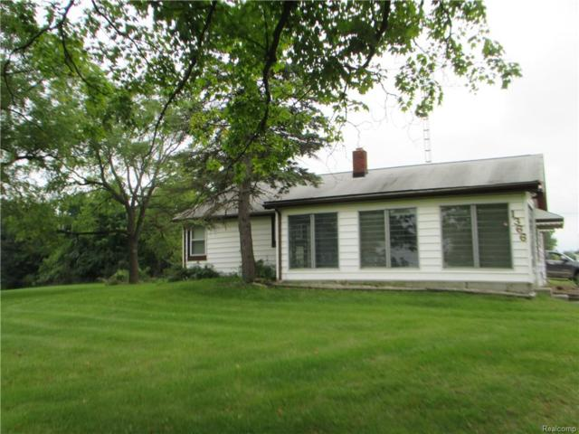 1366 Thompson Road, Holly Twp, MI 48442 (#218090078) :: The Buckley Jolley Real Estate Team