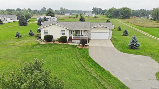 1460 Connell Road, Brandon Twp, MI 48462 (#218090111) :: Duneske Real Estate Advisors