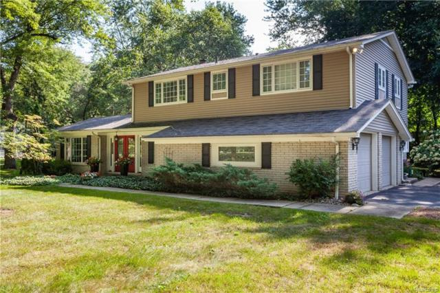 4681 Charing Cross Road, Bloomfield Twp, MI 48304 (#218090142) :: The Buckley Jolley Real Estate Team
