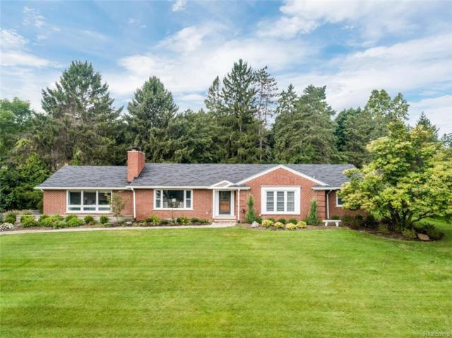 6580 Whysall Road, Bloomfield Twp, MI 48301 (MLS #218090444) :: The Toth Team
