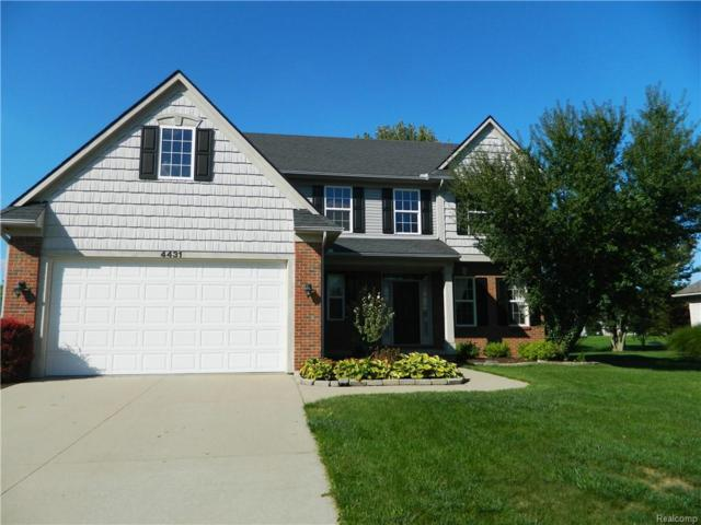 4431 Daniel Drive, Grand Blanc Twp, MI 48439 (MLS #218090783) :: The Toth Team