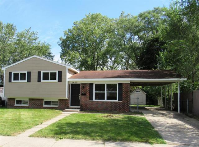 1489 Harry Street, Ypsilanti Twp, MI 48198 (#543260357) :: Duneske Real Estate Advisors