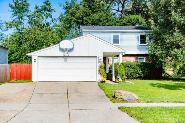 5942 Big Pine Drive, Ypsilanti Twp, MI 48197 (#543260218) :: Duneske Real Estate Advisors