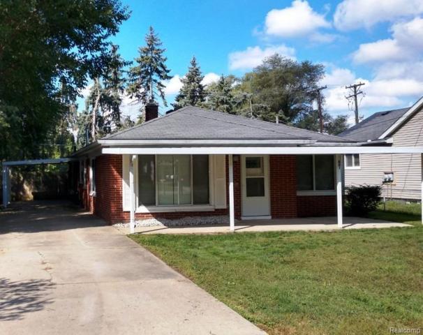 881 Allen Road, Ypsilanti, MI 48198 (#543260364) :: Duneske Real Estate Advisors