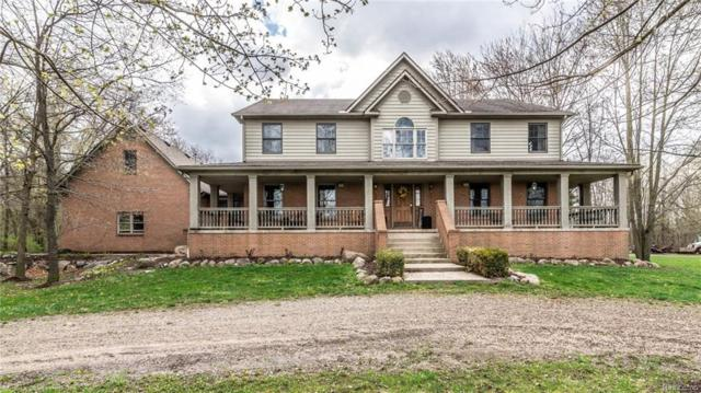 8830 S Rushton Road, Northfield Twp, MI 48178 (MLS #218091066) :: The Toth Team