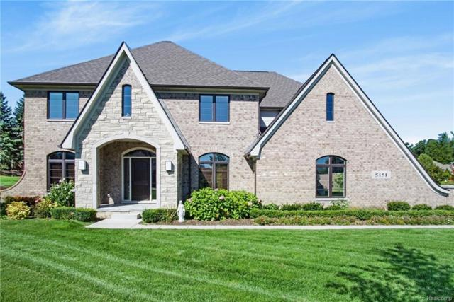 5151 Springdale Court, Independence Twp, MI 48348 (#218091109) :: The Mulvihill Group