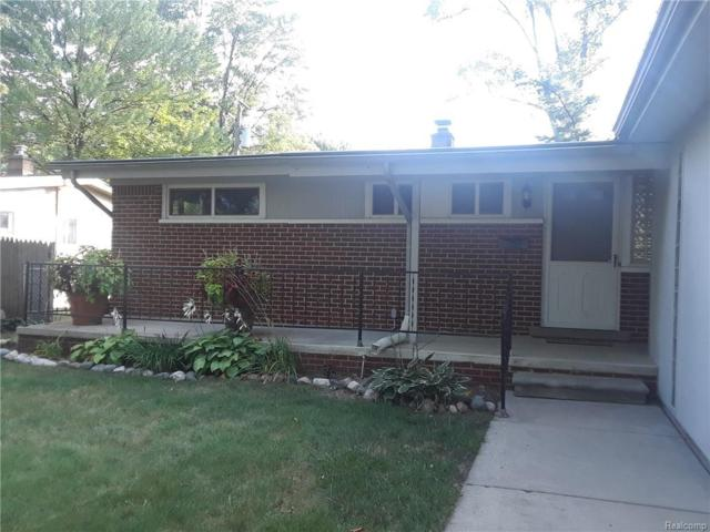 1554 Witherbee Drive, Troy, MI 48084 (MLS #218091210) :: The Toth Team