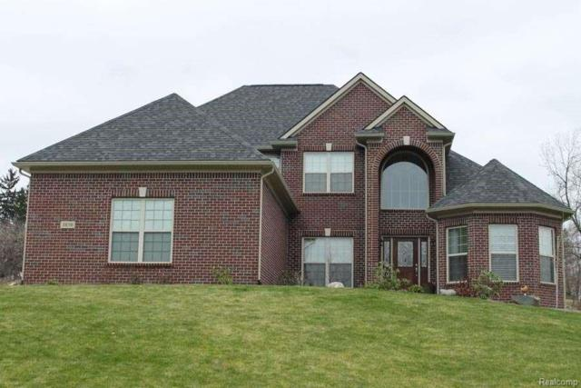 388 Golfside Drive, Oxford Twp, MI 48371 (#218091369) :: The Mulvihill Group