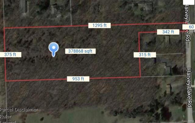 Vacant Harvey Lake Road, Highland Twp, MI 48375 (#218091457) :: RE/MAX Classic
