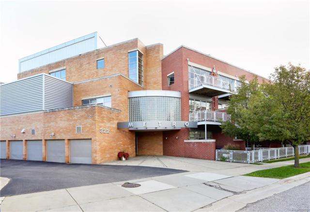 322 E Harrison Unit 9 Avenue, Royal Oak, MI 48067 (#218091541) :: Duneske Real Estate Advisors