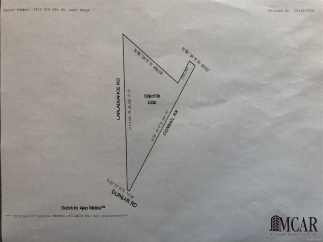 0 Laplaisance, Monroe, MI 48161 (#57031360405) :: Duneske Real Estate Advisors
