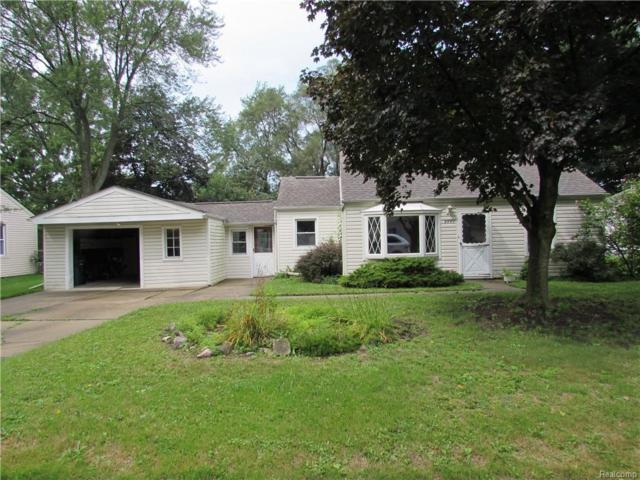 8881 Marlowe Avenue, Plymouth Twp, MI 48170 (#218091846) :: RE/MAX Classic