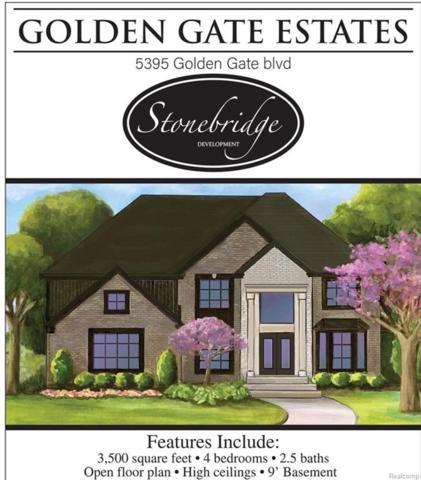 5395 Golden Gate Boulevard, Grand Blanc Twp, MI 48439 (#218092048) :: The Buckley Jolley Real Estate Team