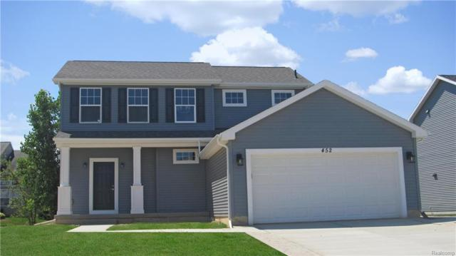 2121 Middle Ridge, Holly Twp, MI 48442 (#218092225) :: The Buckley Jolley Real Estate Team