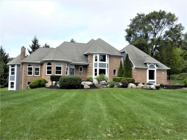 1001 Deep Valley Drive, Milford Vlg, MI 48381 (#218092542) :: The Buckley Jolley Real Estate Team