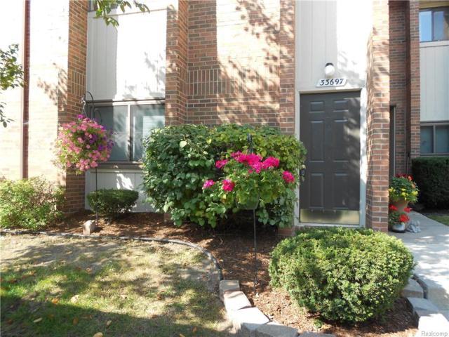 33697 Pondview Circle, Livonia, MI 48152 (#218093323) :: Keller Williams West Bloomfield