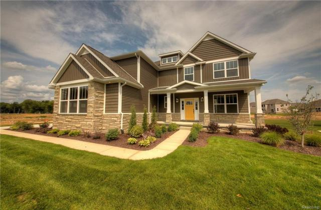 2445 Walnut View (Homesite 11) Drive, Hartland Twp, MI 48843 (#218094034) :: KNE Realty 360