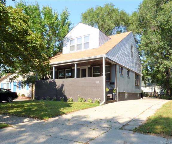 1019 E Muir Ave. Avenue, Hazel Park, MI 48030 (MLS #218094204) :: The Toth Team