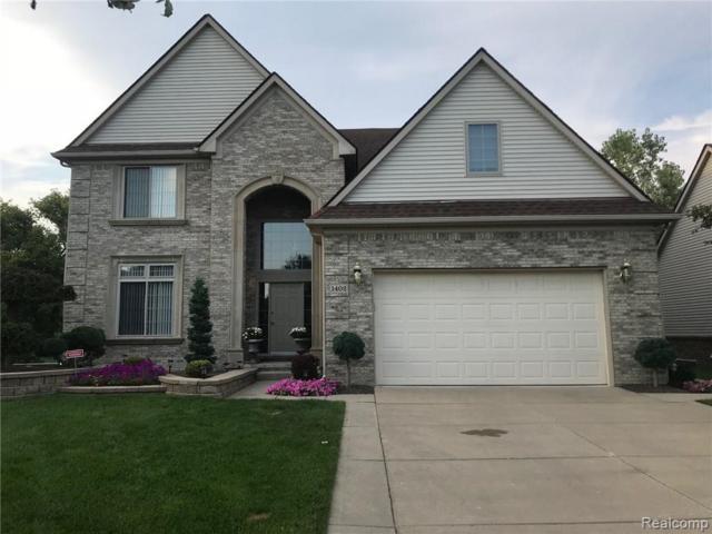 1402 Red Cedar Lane, CARLETON VLG, MI 48117 (#218094468) :: The Buckley Jolley Real Estate Team