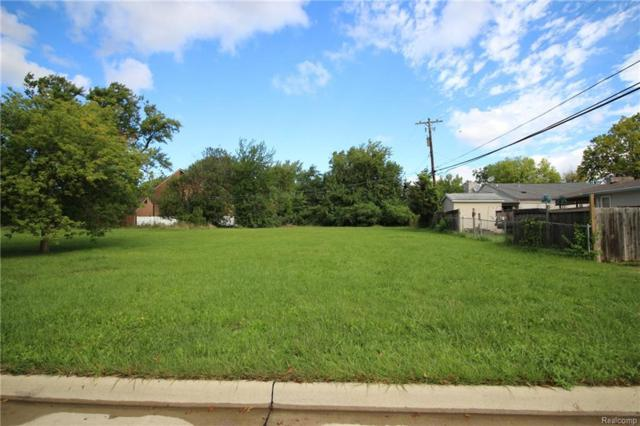 VACANT LOT N Hass Street (Parcel D), Dearborn Heights, MI 48127 (MLS #218094520) :: The Toth Team