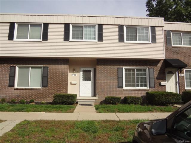 707 Estrada Drive, Belleville, MI 48111 (#218094755) :: Duneske Real Estate Advisors
