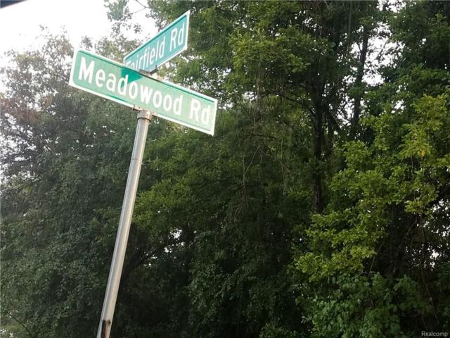0000 Meadowood, Southfield, MI 48076 (#218095901) :: RE/MAX Classic