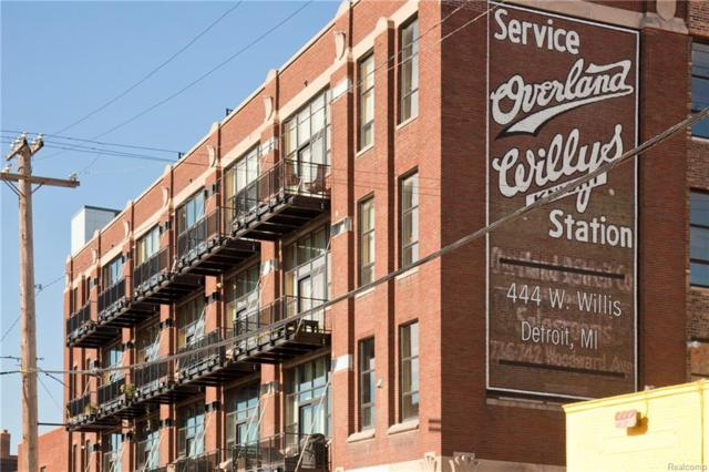 444 W Willis Street 504-05, Detroit, MI 48201 (#218096016) :: RE/MAX Classic