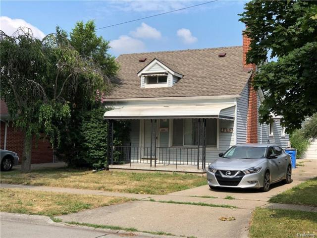 4853 Dudley Street, Dearborn Heights, MI 48125 (#218096704) :: The Mulvihill Group