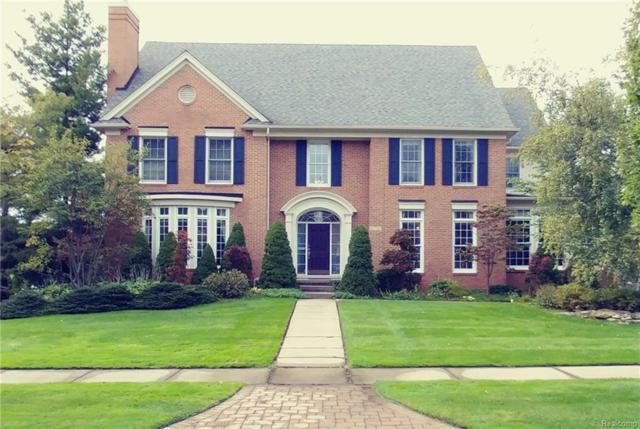 6538 Crest Top Drive, West Bloomfield Twp, MI 48322 (#218097082) :: The Mulvihill Group