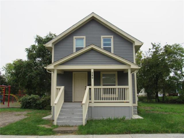 246 Ferry Avenue, Pontiac, MI 48341 (#218097921) :: The Buckley Jolley Real Estate Team