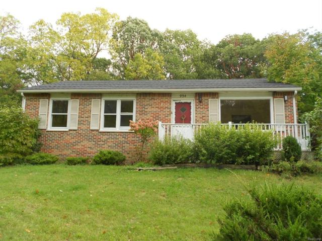 954 Rose Drive, Scio Twp, MI 48103 (#543260826) :: The Buckley Jolley Real Estate Team