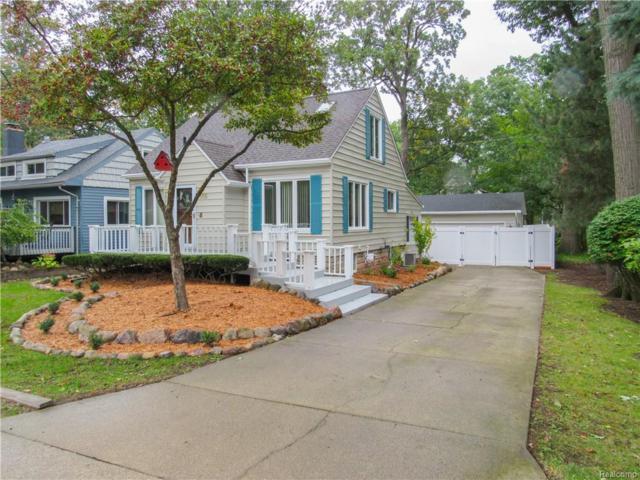 1465 Rosedale Avenue, Sylvan Lake, MI 48320 (#218098434) :: Duneske Real Estate Advisors